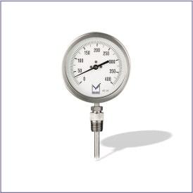 All Stainless Steel Bimetal Temperature Gauge