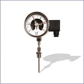 All Stainless Steel Contact Temperature Gauge