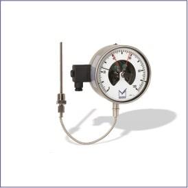 Gas Field Capacity Temperature Gauge