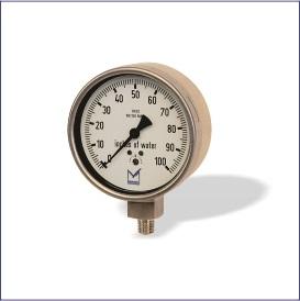 Low Range Pressure Gauge