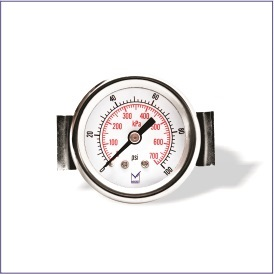 Pi1 (Standard Pressure Gauge with Crimped Bezel)