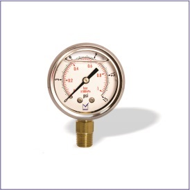 Pi5 (Standard Pressure Gauge with Liquid Filling)