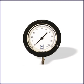 PT2 (Black Epoxy Coated Adjustable Dial Test Gauge)