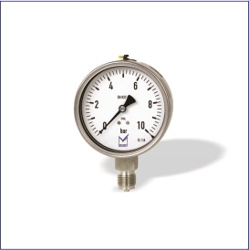 PU1 (All Stainless Steel Heavy Duty Pressure Gauge with Stabilizer)