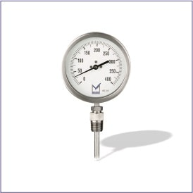 TI1 (All Stainless Steel Bimetal Temperature Gauge)